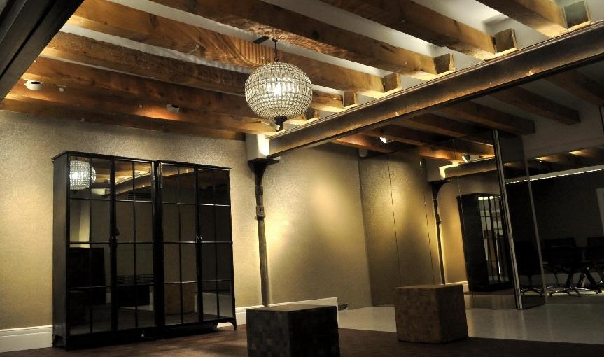 Studio Parquet Showroom Sagitario Lighting