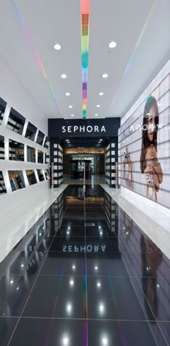 Sephora Perfume Shop Sagitario Lighting