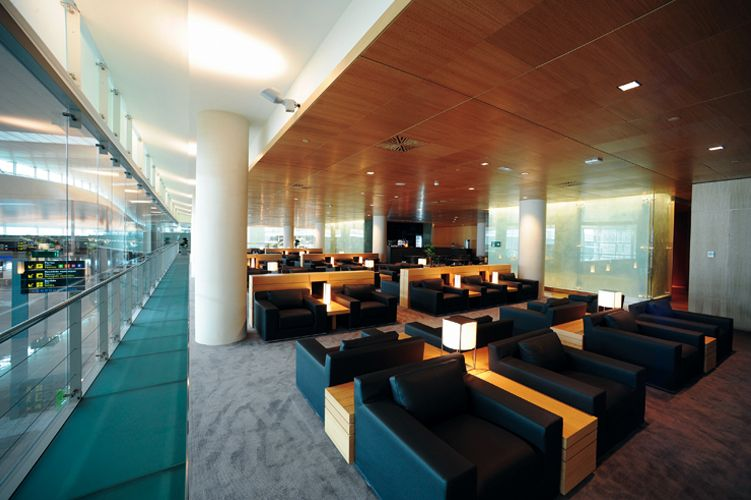 Barcelona Airport T1 Vip Lounges Sagitario Lighting